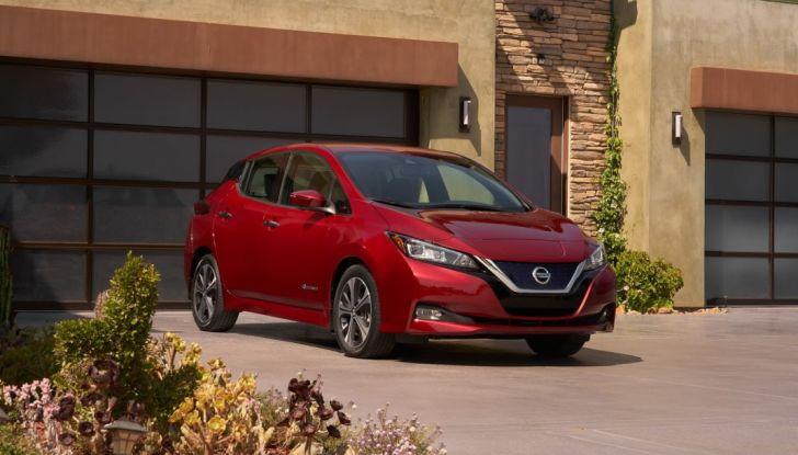 Promozione Nissan Leaf, febbraio 2018: prezzi da 299€ al mese - Foto 23 di 26