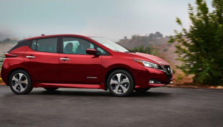 Promozione Nissan Leaf, febbraio 2018: prezzi da 299€ al mese - Foto 26 di 26