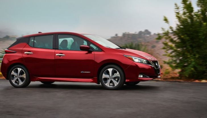 Nissan LEAF 2018: caratteristiche, autonomia e prezzi - Foto 26 di 26