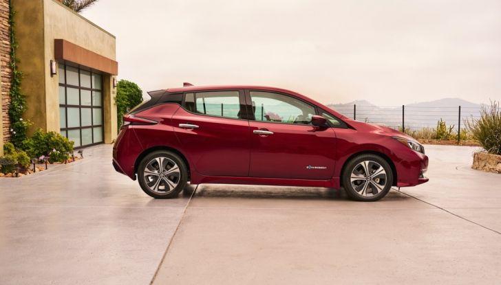 Promozione Nissan Leaf, febbraio 2018: prezzi da 299€ al mese - Foto 8 di 26