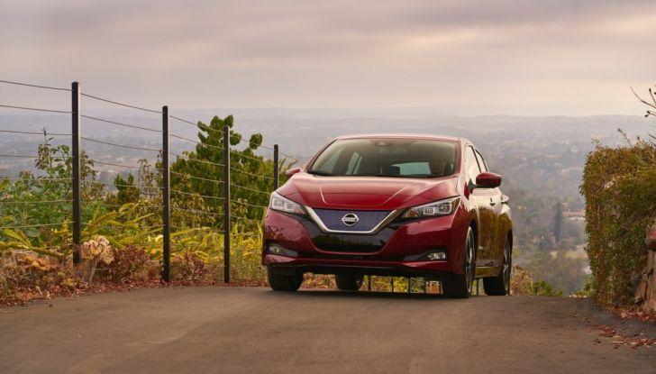Promozione Nissan Leaf, febbraio 2018: prezzi da 299€ al mese - Foto 1 di 26