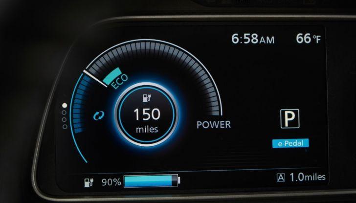Nissan LEAF 2018: caratteristiche, autonomia e prezzi - Foto 12 di 26