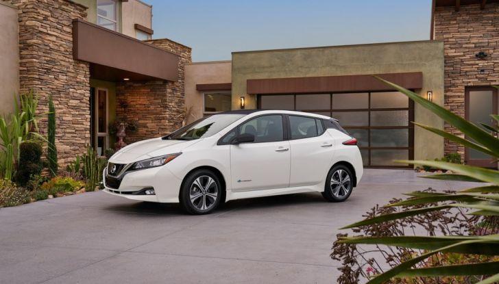 Promozione Nissan Leaf, febbraio 2018: prezzi da 299€ al mese - Foto 2 di 26