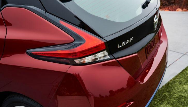 Promozione Nissan Leaf, febbraio 2018: prezzi da 299€ al mese - Foto 19 di 26