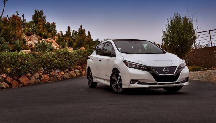 Promozione Nissan Leaf, febbraio 2018: prezzi da 299€ al mese - Foto 3 di 26
