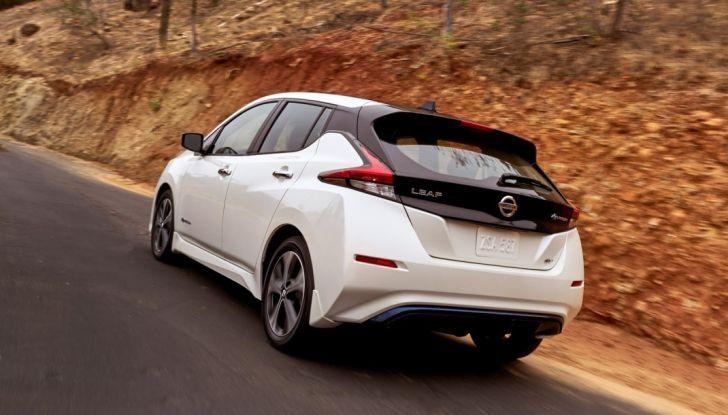 Promozione Nissan Leaf, febbraio 2018: prezzi da 299€ al mese - Foto 7 di 26