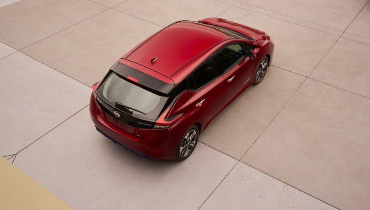 Promozione Nissan Leaf, febbraio 2018: prezzi da 299€ al mese - Foto 24 di 26