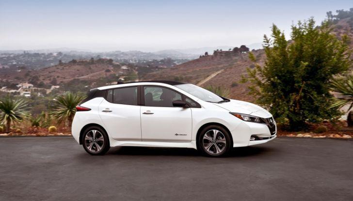 Promozione Nissan Leaf, febbraio 2018: prezzi da 299€ al mese - Foto 5 di 26