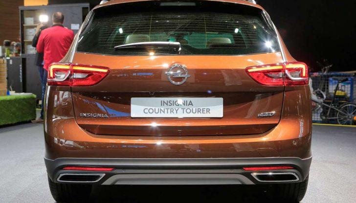 Opel Insignia Country Tourer, la versione per tutti i terreni - Foto 6 di 13