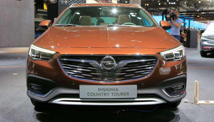 Opel Insignia Country Tourer, la versione per tutti i terreni - Foto 4 di 13