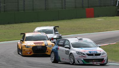 TCR Italy a Imola - Peugeot 308 Racing Cup non perde un colpo