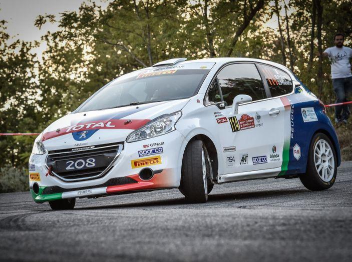 Rally di Roma – Pollara (Peugeot 208 R2) soddisfatto del risultato di Tappa 1 - Foto 2 di 2