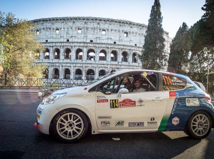 Rally di Roma – Voce ai piloti Peugeot, Andreucci e Pollara (neocampione 2 ruote motrici) - Foto 3 di 3