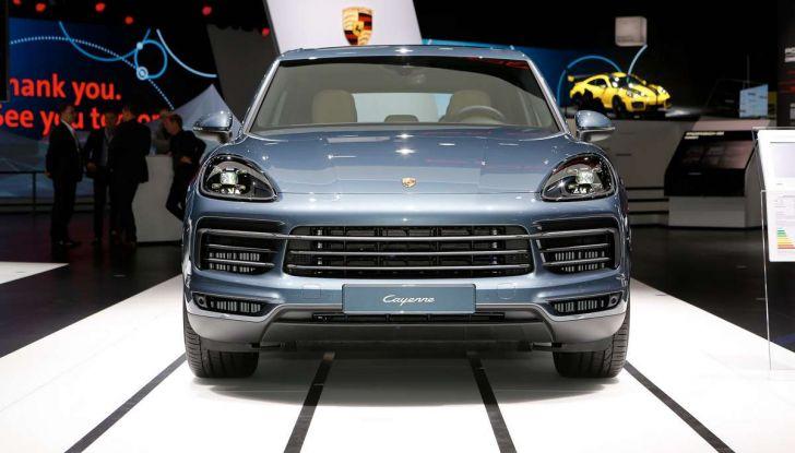 Nuova Porsche Cayenne, arriva la terza generazione del SUV tedesco - Foto 5 di 13