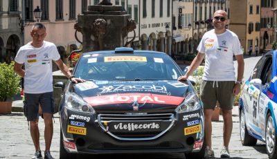 Rally Coppa Valtellina - Voce al terzetto in testa nel trofeo Peugeot Competition RALLY 208