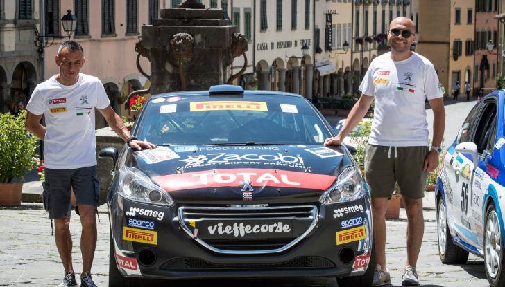 Rally Coppa Valtellina – Voce al terzetto in testa nel trofeo Peugeot Competition RALLY 208 - Foto 1 di 3