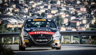 Voce a Marcello Razzini, neo vincitore del trofeo Peugeot Competition 208 Rally