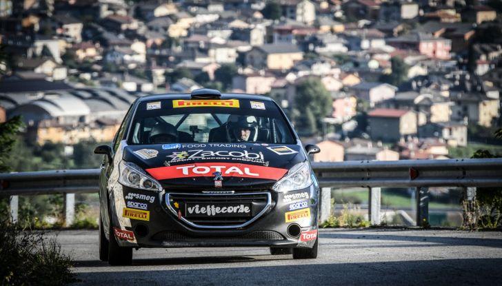Voce a Marcello Razzini, neo vincitore del trofeo Peugeot Competition 208 Rally - Foto 1 di 2