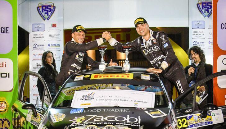 Voce a Marcello Razzini, neo vincitore del trofeo Peugeot Competition 208 Rally - Foto 2 di 2
