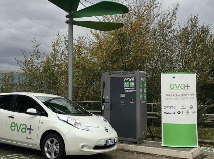 EVA+ Enel, le colonnine di ricarica veloce extraurbana per fare il pieno in 20 minuti - Foto 5 di 10