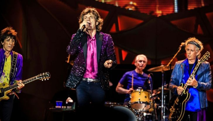 Jeep Compass con i Rolling Stones nel No Filter Tour 2017 in Europa - Foto 6 di 7