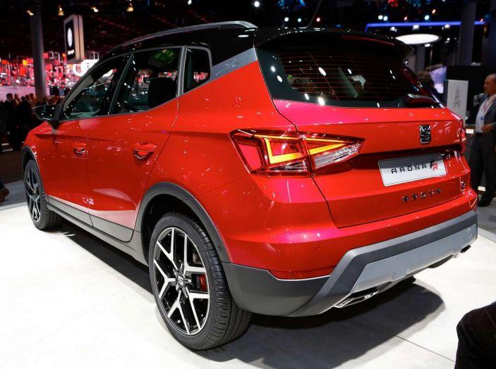 Seat Arona: i dettagli del nuovo SUV compatto prodotto a Martorell - Foto 5 di 12