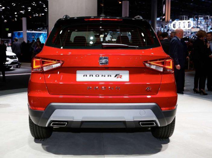 Seat Arona: i dettagli del nuovo SUV compatto prodotto a Martorell - Foto 8 di 12