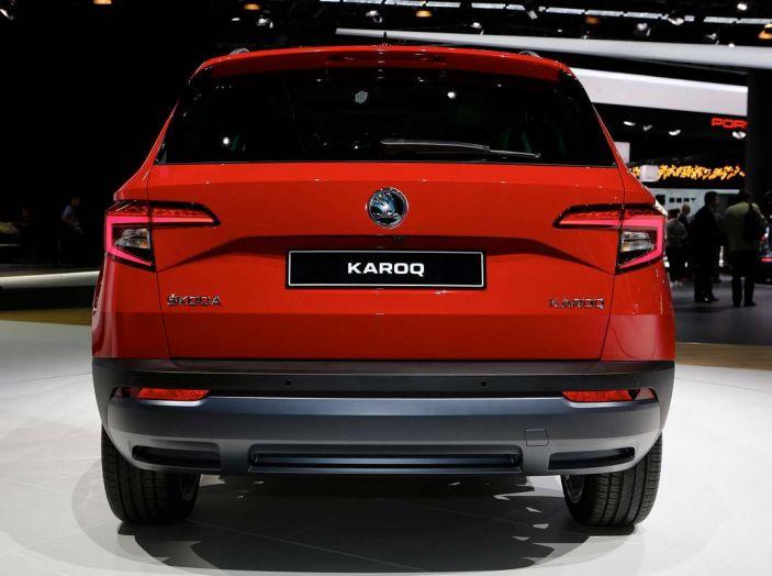 Skoda Karoq: il SUV compatto con nuovi motori e tanto spazio - Foto 3 di 15