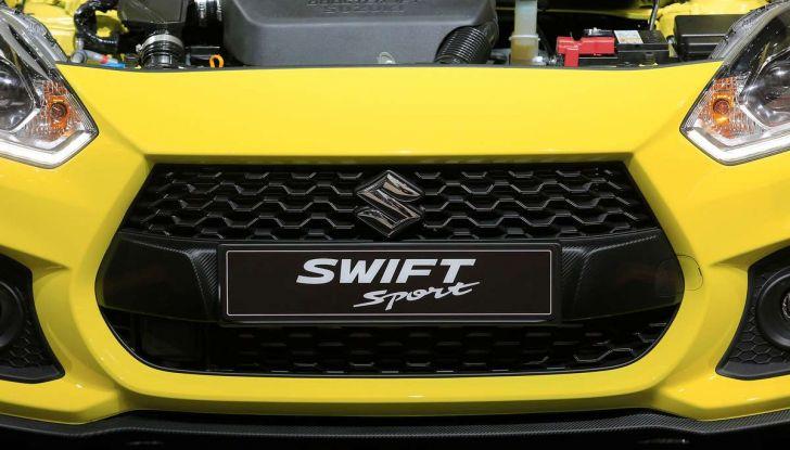 Nuova Suzuki Swift Sport 2017, dettagli, prezzi e motori - Foto 11 di 12