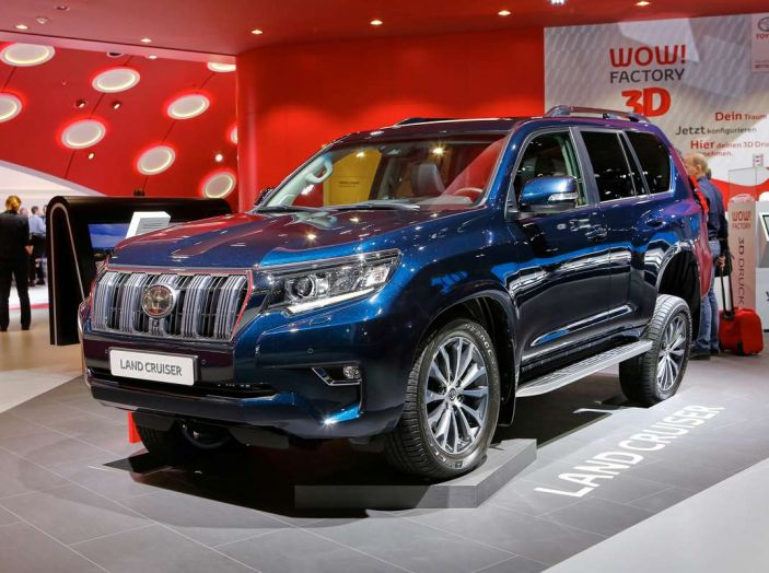 Toyota Land Cruiser 2018: il SUV body-on-frame per tutti i terreni