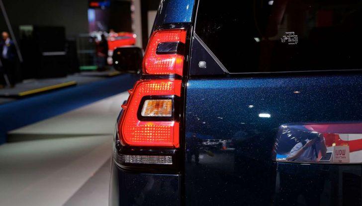 Toyota Land Cruiser 2018: il SUV body-on-frame per tutti i terreni - Foto 9 di 15