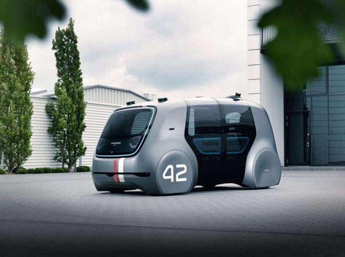 Volkswagen SEDRIC, l'elettrica a guida autonoma - Foto 6 di 10