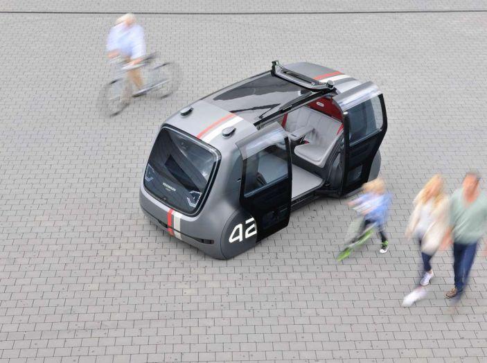 Volkswagen SEDRIC, l'elettrica a guida autonoma - Foto 9 di 10