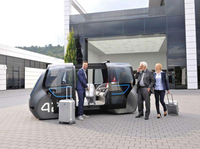 Volkswagen SEDRIC, l'elettrica a guida autonoma - Foto 10 di 10