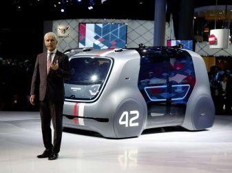 Volkswagen SEDRIC, l'elettrica a guida autonoma