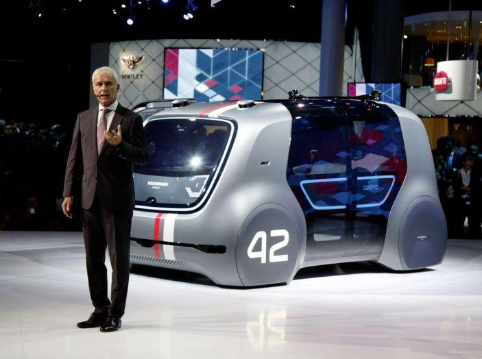 Volkswagen SEDRIC, l'elettrica a guida autonoma - Foto 1 di 10