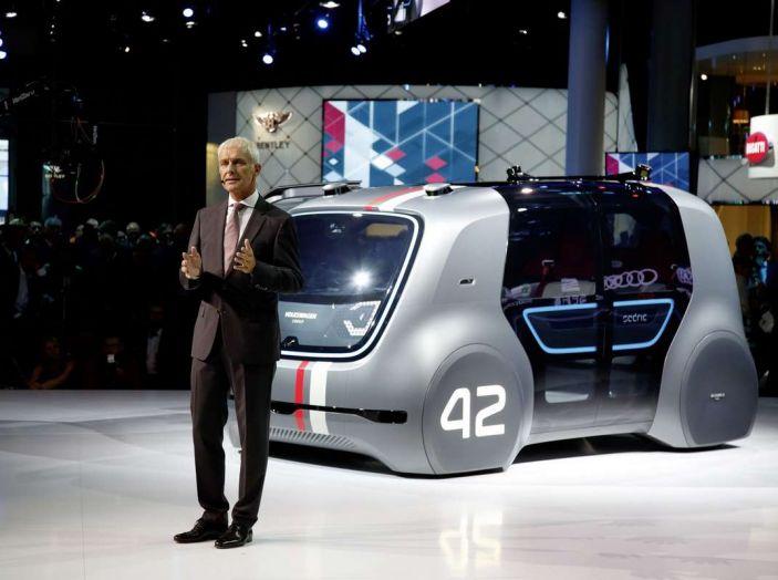 Volkswagen SEDRIC, l'elettrica a guida autonoma - Foto 5 di 10