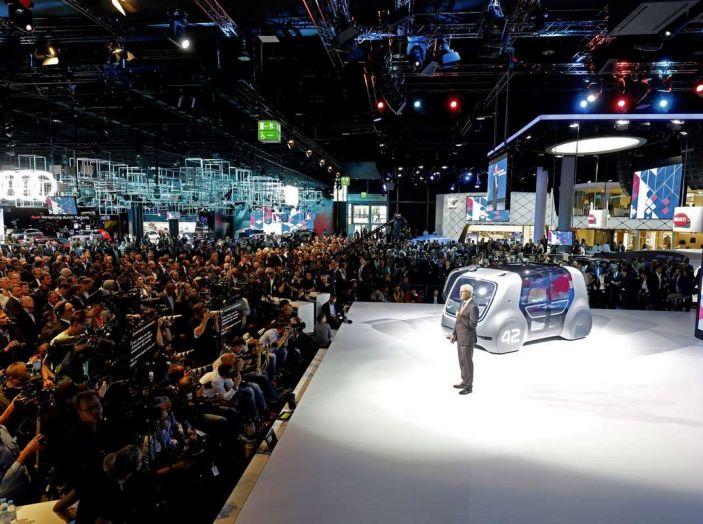 Volkswagen SEDRIC, l'elettrica a guida autonoma - Foto 4 di 10