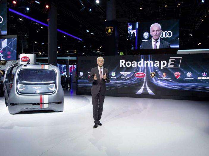 Volkswagen SEDRIC, l'elettrica a guida autonoma - Foto 3 di 10