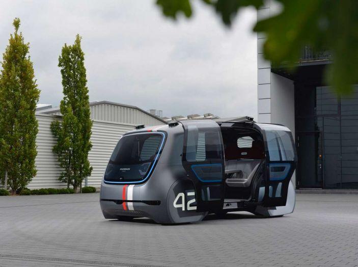Volkswagen SEDRIC, l'elettrica a guida autonoma - Foto 7 di 10