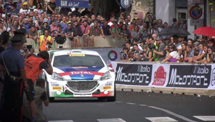 Rally di Roma – Il week end di gara di Peugeot - Foto  di