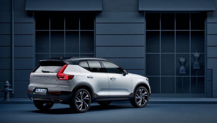 Volvo XC40 2018, arriva il crossover compatto del marchio svedese - Foto 9 di 28