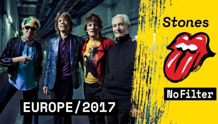 Jeep Compass con i Rolling Stones nel No Filter Tour 2017 in Europa - Foto 2 di 7