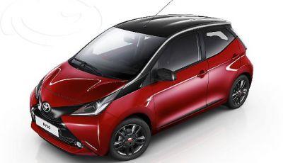 Toyota Aygo X-Cite Red Bi Tone, edizione limitata da 11.700 euro