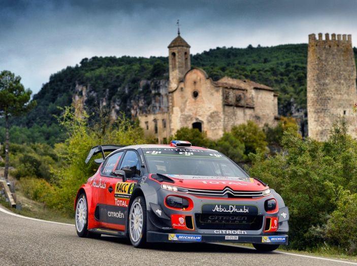 WRC Spagna – Giorno 2: al primo posto la C3 WRC di Meeke. - Foto 1 di 7
