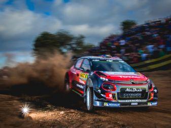 WRC Spagna – Shakedown: ottimo tempo per la C3 WRC di Kris Meeke