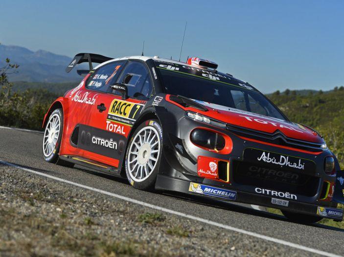 WRC Spagna – Giorno 3: la vittoria di Kris Meeke con Citroën C3 WRC - Foto 2 di 8