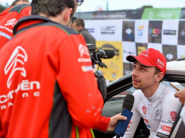WRC Spagna – Giorno 3: le dichiarazioni del team Citroën - Foto 3 di 5