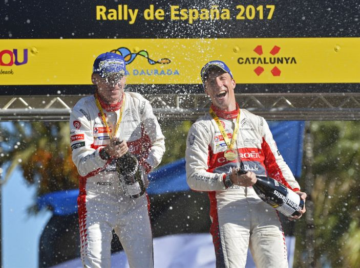 WRC Spagna – la cronaca della vittoria di Citroën - Foto 1 di 5