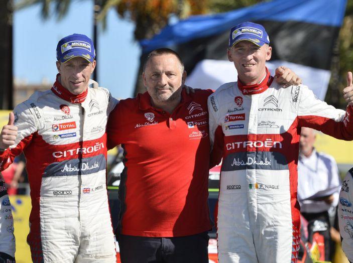WRC Spagna – Giorno 3: le dichiarazioni del team Citroën - Foto 1 di 5